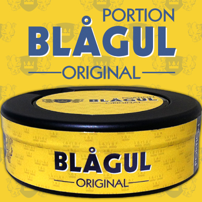 NYTT SNUS: Bl�gul Original Portion!