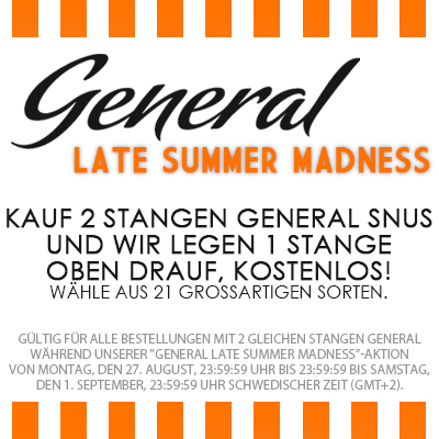 General Late Summer Madness