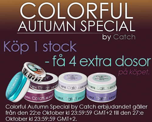 Colorful Autumn Special by Catch!