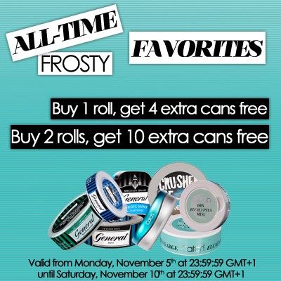 All-Time Frosty Favorites!
