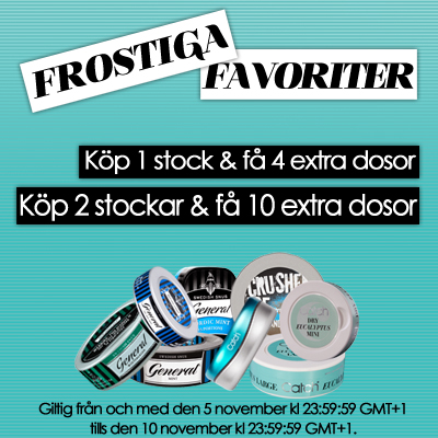 Frostiga Favoriter!