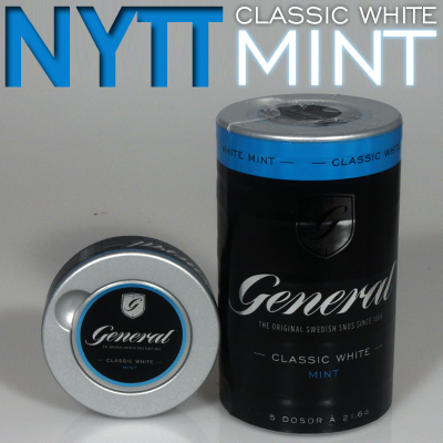 General Classic White Mint Portion!
