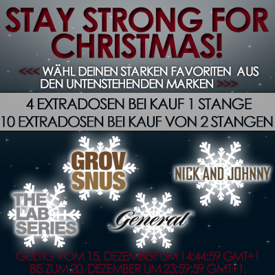 Stay strong for Christmas!