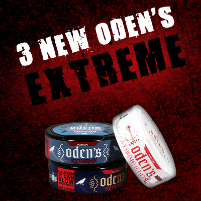 3 NEW ODEN'S EXTREME PORTION!