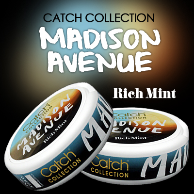 Catch Collection MADISON AVENUE - Rich Mint!