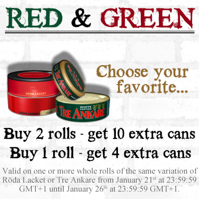 Red And Green Special!