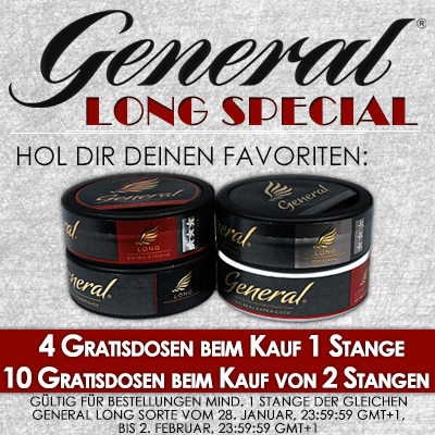 General Long Special!