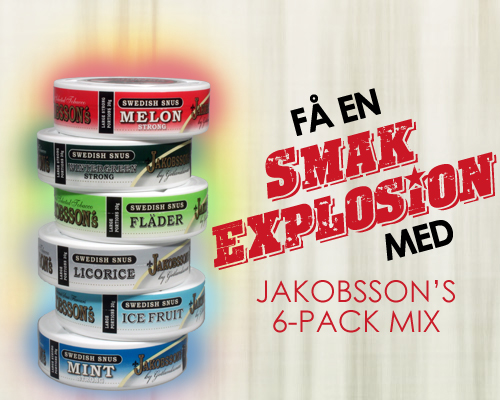 SMAK EXPLOSION - Jakobsson's 6-Pack!