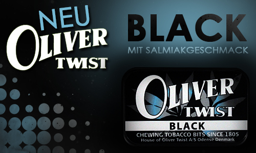 NEU: Oliver Twist Black
