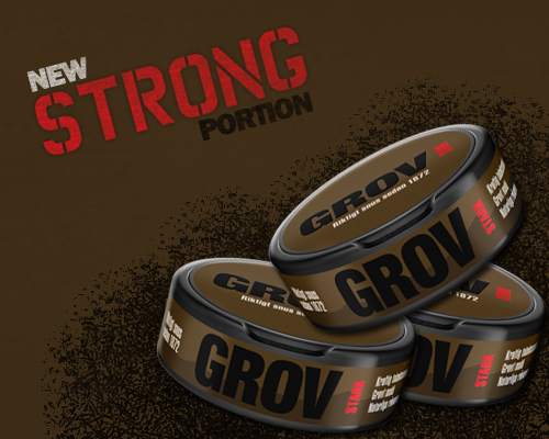Grovsnus Strong Portion