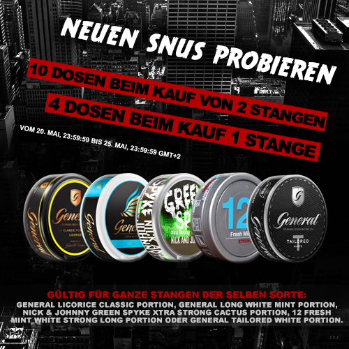 New Snus with Special
