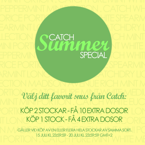 Catch Summer Special!