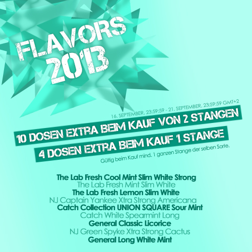 Flavors 2013!