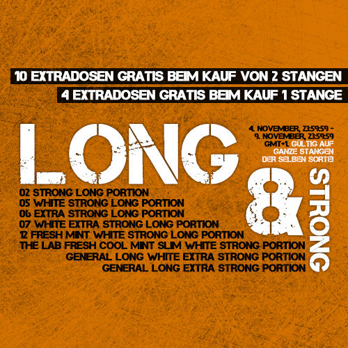 Long & Strong Special!!