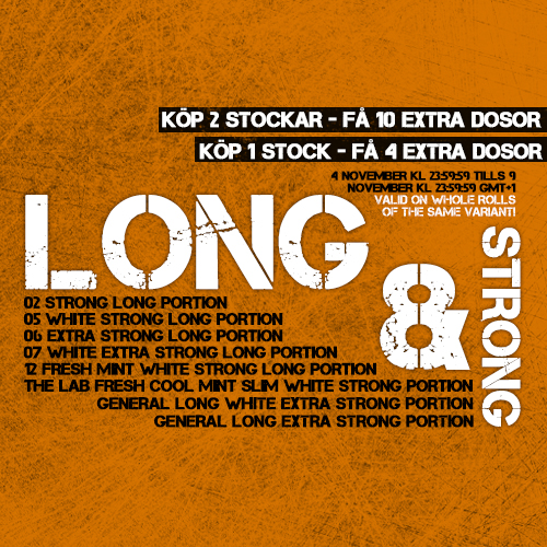 Long & Strong Special!