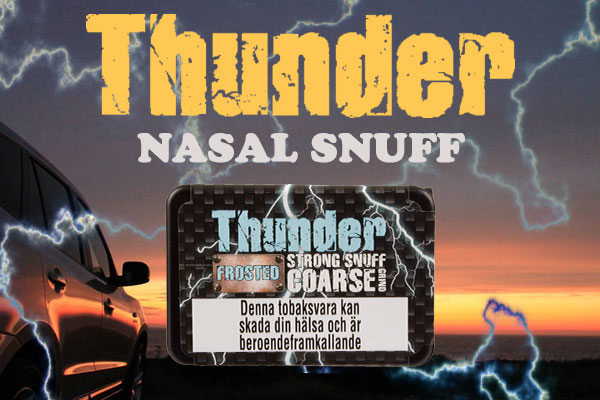 Thunder Frosted Nasal Snuff - snus News - BuySnus com
