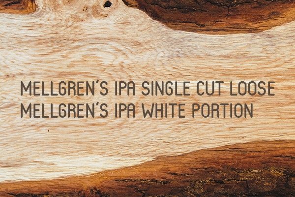 Mellgren's IPA Single Cut