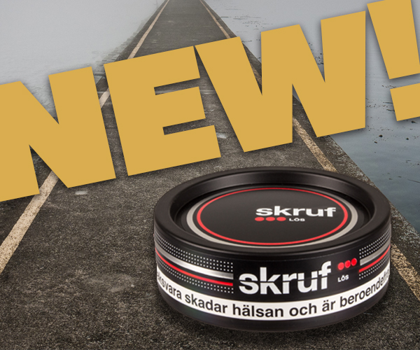 New snus from Skruf