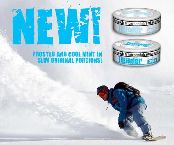 New snus from Thunder!