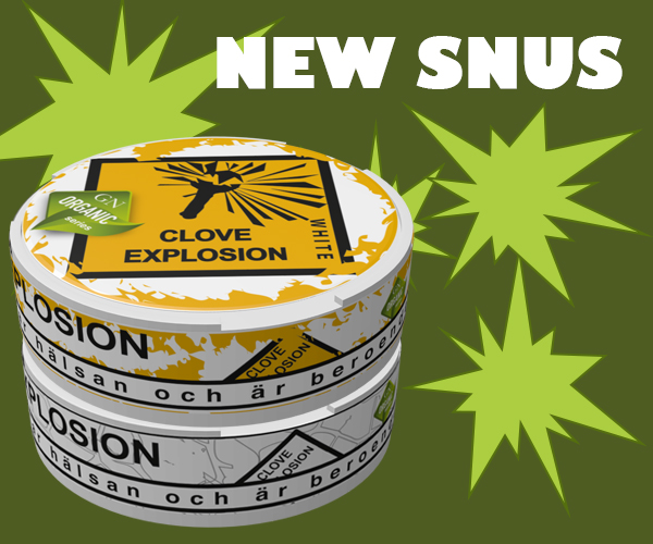 New snus from GN Tobacco!