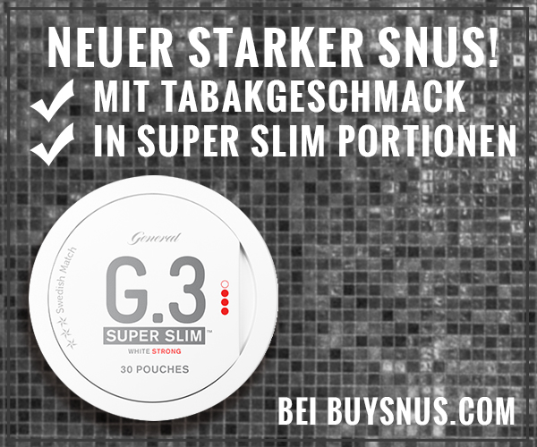 Neuer SUPER SLIM Snus von Swedish Match!