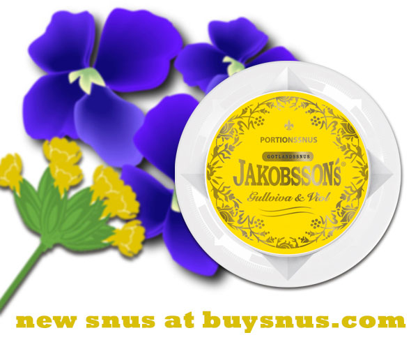New Snus from Gotlandssnus!