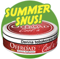 Summer Edition Snus from Offroad, cola flavored...!