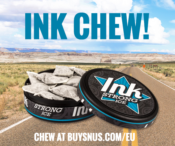 INK Chew - chewing tobacco similar to snus
