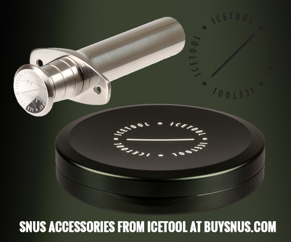 Icetool, snus cans and snus portioners - at buysnus.com!