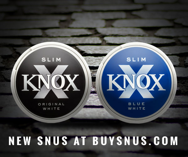 New snus - Knox Slim - at buysnus.com!