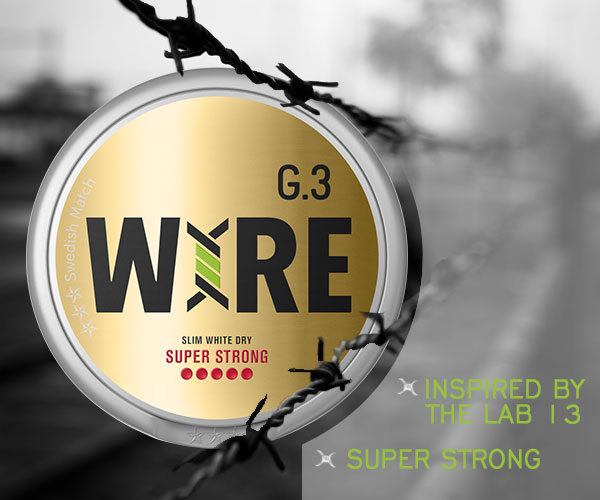 New snus at buysnus.com, General G.3 WIRE Super Strong