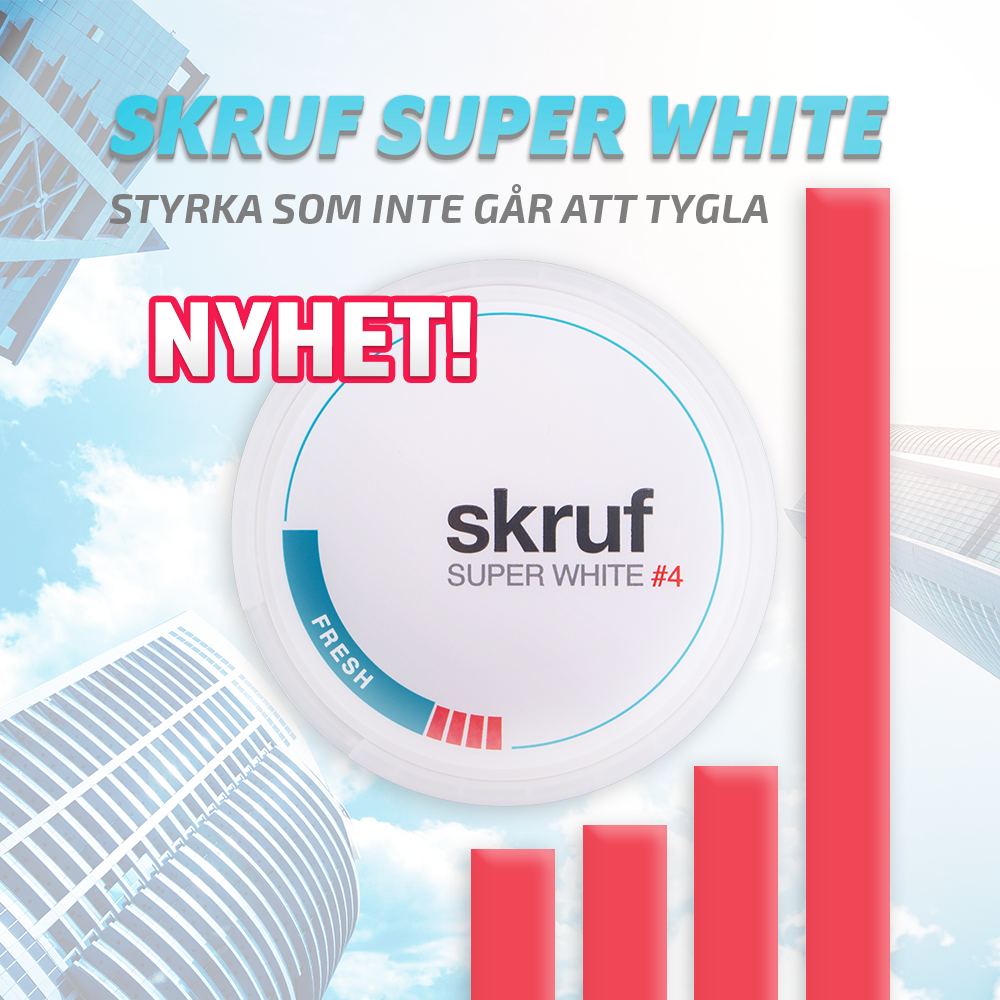 Skruf Super White Fresh No4