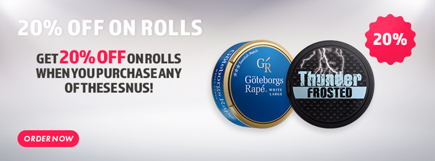 Snus with discount - Order now!